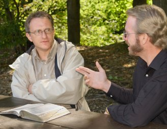 Apologetics can be as simple as discussion with a friend.