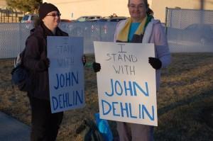 Standing with John Dehlin